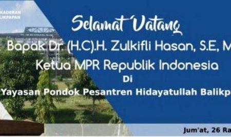 KUNJUNGAN KENEGARAAN KETUA MPR REPUBLIK INDONESIA